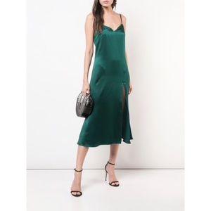 NWT Reformation Britten Dress || Emerald